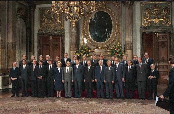 Brüssel, Sitzung des Europarates